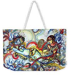 Radha Krishna - Flute - Love Weekender Tote Bag