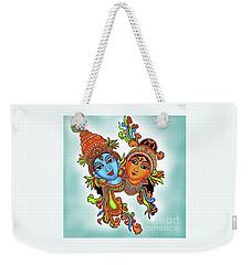 Radha With Her Krishna Weekender Tote Bag