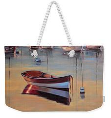 Radiant White Weekender Tote Bag