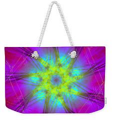 Weekender Tote Bag featuring the digital art Radicanism by Andrew Kotlinski