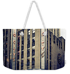 Radio City Weekender Tote Bag