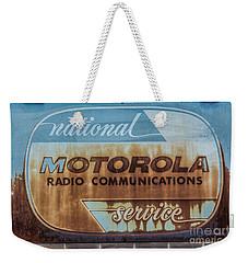 Radio Communications Weekender Tote Bag