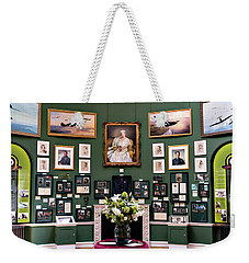 Weekender Tote Bag featuring the photograph Raf Bentley Priory by Alan Toepfer