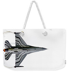Raf Scampton 2017 - F-16 Fighting Falcon On White Weekender Tote Bag