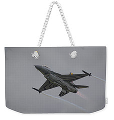 Raf Scampton 2017 - F-16 Fighting Falcon Weekender Tote Bag