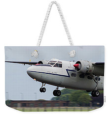 Raf Scampton 2017 - Hunting Percival P 66 Pembroke Taking Off Weekender Tote Bag