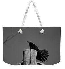 Raging Crow Weekender Tote Bag