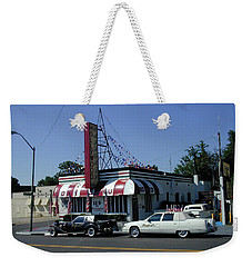 Weekender Tote Bag featuring the photograph Raifords Disco Memphis A by Mark Czerniec