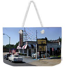 Weekender Tote Bag featuring the photograph Raifords Disco Memphis B by Mark Czerniec