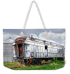 Rail Car Weekender Tote Bag