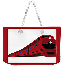 Rail Weekender Tote Bag by Now