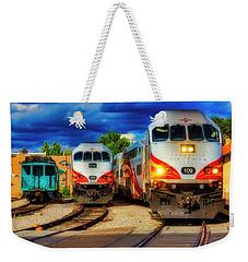 Rail Runner Express Weekender Tote Bag