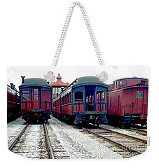 Rail Stock Weekender Tote Bag by Paul W Faust - Impressions of Light