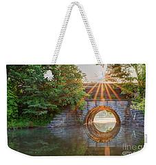 Railroad Bridge Weekender Tote Bag