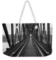 Railroad Weekender Tote Bag by Ester Rogers