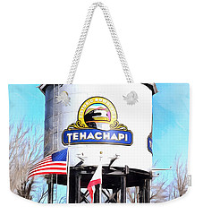 Weekender Tote Bag featuring the photograph Railroad Park Tehachapi California Detail by Floyd Snyder