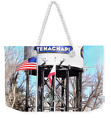 Weekender Tote Bag featuring the photograph Railroad Park Tehachapi California by Floyd Snyder