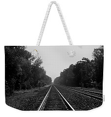 Railroad To Nowhere Weekender Tote Bag by Trish Tritz