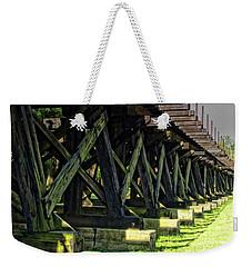 Railroad Tracks Weekender Tote Bag