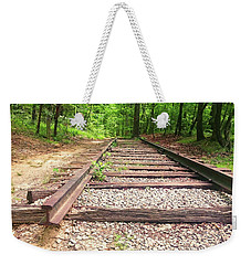 Railroad Tracks To Neverland Weekender Tote Bag
