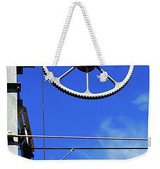 Railway Catenary Weekender Tote Bag