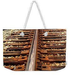 Weekender Tote Bag featuring the photograph Railway by Ester Rogers