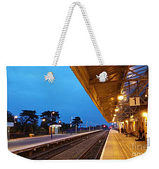 Railway Vanishing Point Weekender Tote Bag