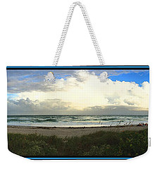 Rain And A Bow Weekender Tote Bag