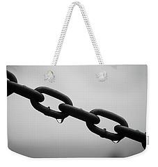 Rain And Chains Weekender Tote Bag