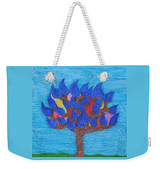 Rain Beauty Tree Weekender Tote Bag