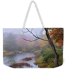 Weekender Tote Bag featuring the photograph Rain by Chad Dutson