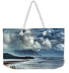 Rain Clearing Kaneohe Bay Weekender Tote Bag
