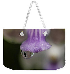 Rain Drop Weekender Tote Bag by Jocelyn Kahawai