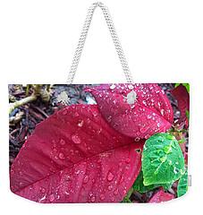 Rain Drops Weekender Tote Bag by Carlos Avila