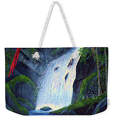 Rain Forest Macaws Weekender Tote Bag