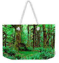 Rain Forest, Olympic National Park Weekender Tote Bag by Panoramic Images