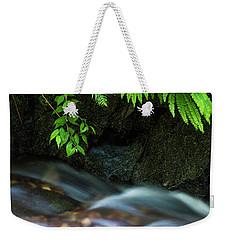 Rain Forest Stream Weekender Tote Bag