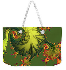 Rain Forest Weekender Tote Bag by Susan Maxwell Schmidt
