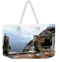 Rain In Positano Weekender Tote Bag