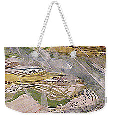 Rain In The  Valley Weekender Tote Bag by Nancy Kane Chapman