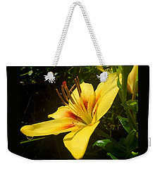 Rain Kissed Tiger Lily Weekender Tote Bag