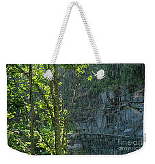 Rain On Rainier - Mt. Rainier Weekender Tote Bag by Jane Eleanor Nicholas