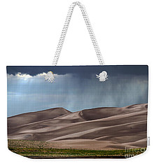 Rain On The Great Sand Dunes Weekender Tote Bag