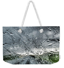 Rain On The Windshield Weekender Tote Bag