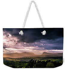 Rain Showers Over Willoughby Gap Weekender Tote Bag