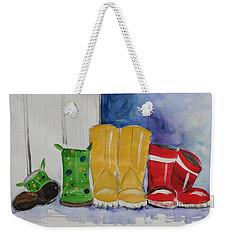 Rainboots Weekender Tote Bag