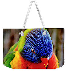 Rainbow Weekender Tote Bag by Adam Olsen