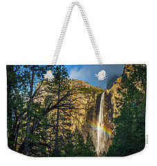 Rainbow And Bridalveil Fall Weekender Tote Bag