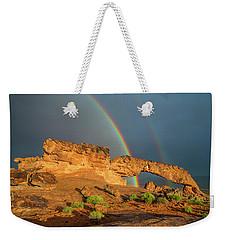 Rainbow Arch Weekender Tote Bag