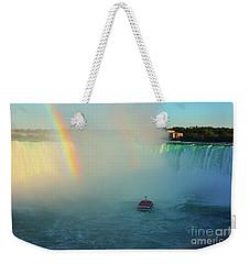 Rainbow At Horseshoe Falls Weekender Tote Bag